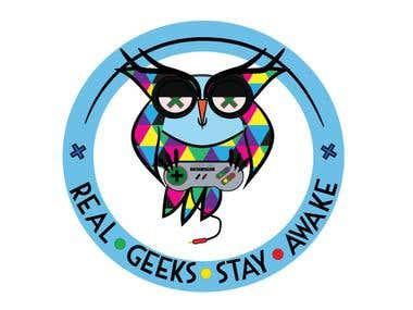 Geek Owl T-Shirt Design Contest