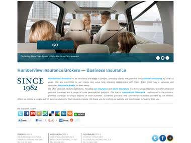 Humberview Insurance Website