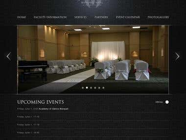 Trident Banquet Hall Website