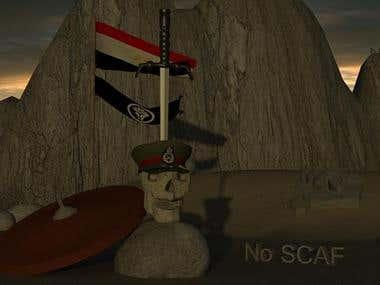 No SCAF 3D Model
