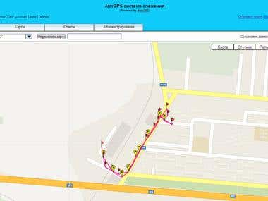 www.armgps.com ArmGPS Global tracking system for vehicles