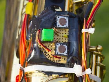 The Meta Saxophone (Physical Interface)