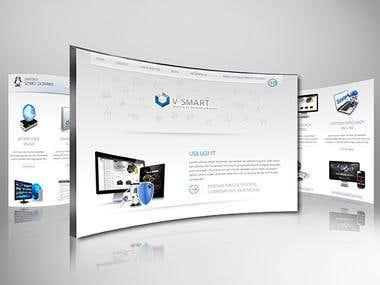 V-smart Website