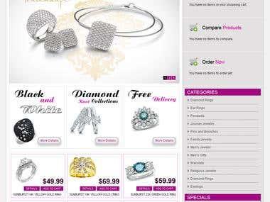 ecommerce Jewellary site