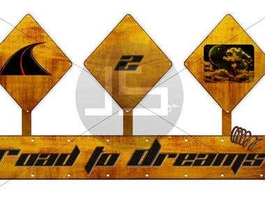 Logo work for Road to dreams.