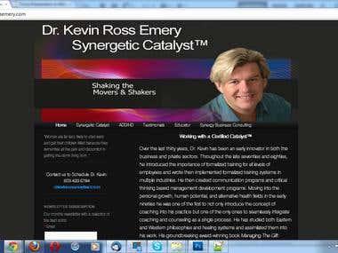 transferring wordpresssite at http://kevinrossemery.com/