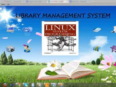 Library Management System (LBS)