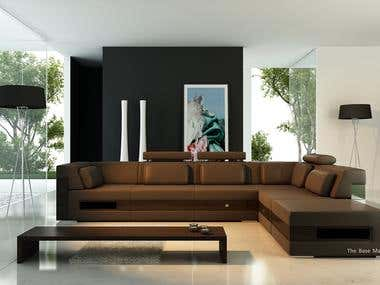 Living Room Interior, Furniture Manufacturing Co. Croatia