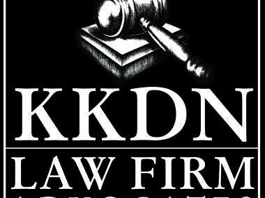 Logo Design for a LAW firm called KKDN.