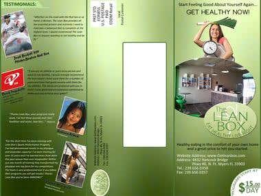 LEANBOX Tri-Fold Brochure