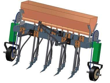 Multi-Function agricultural Machine