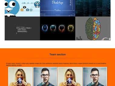 Fully Responsive WordPress Portfolio