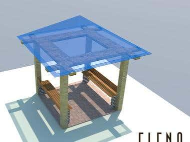 Permanent Glass / Acryllic Tent