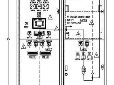 Basic Switchgear Design Front View