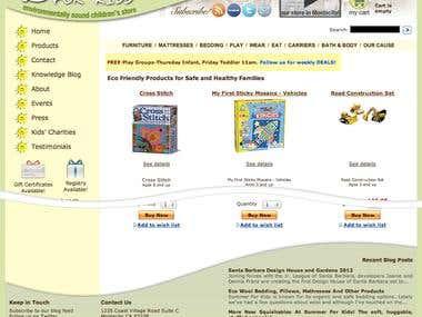 Summer for Kids Website Refresh