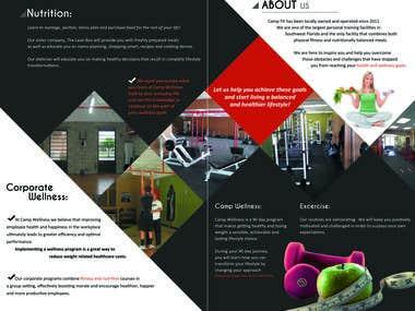 CAMP FIT Bi-Fold Brochure