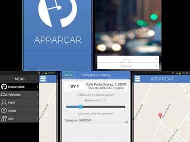 Apparcar (iOS + Android)