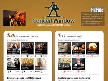 concertwindow.com