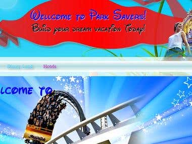 Parksavers.com Custom Wordpress Site
