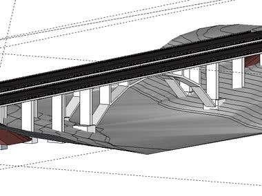Concrete Arch Bridge Design