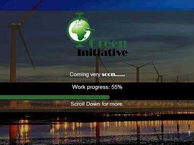 Green-initiative.net responsive/parallax website