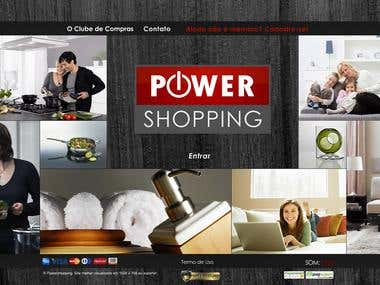 Ecommerce Website Magento like Private Club