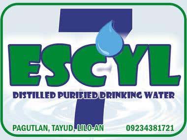 Escyl Logo - Water Refilling