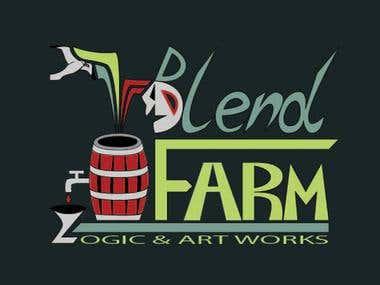 Logo Blend Farm