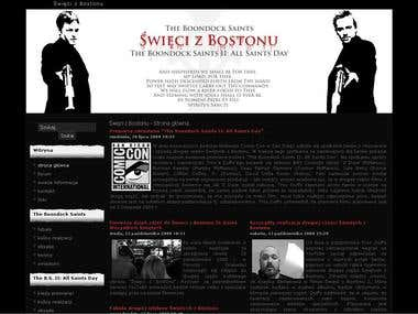 Polish fansite of The Boondock Saints