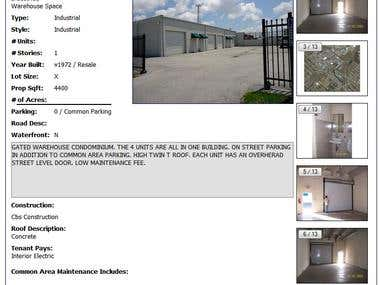 Sample, warehouse for sale