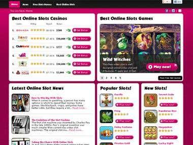 Online Slots Area