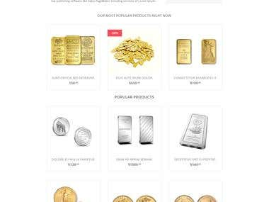 Gold store online