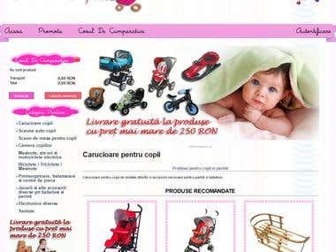 PrestaShop - Carucior copii