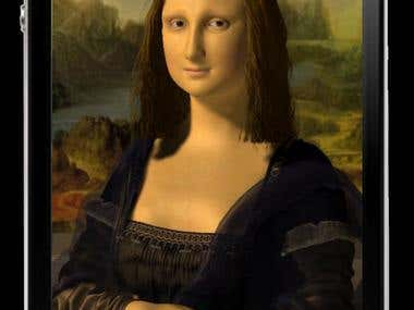 Mona Lisa for iPhone Application