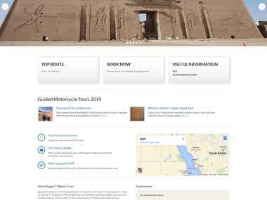 PHP and MYSQL - Egypt 2 Wheel Tours