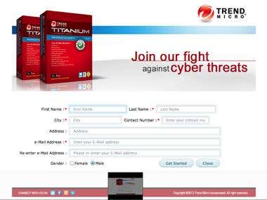 Survey Application For Trend Micro Antivirus