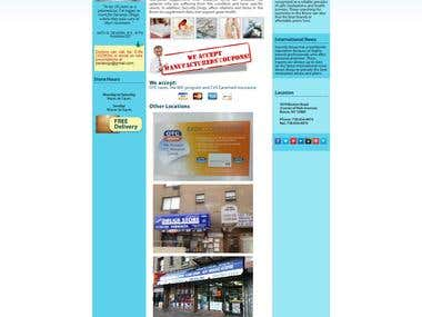 Pharmacy Site