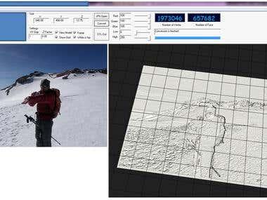 Image to 3D CAD (STL) converter