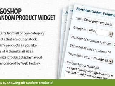 JigoShop & Wordpress Plugin