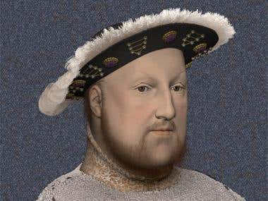 Henry VIII Tudor (in 3d animation)