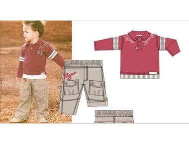 Kids Fashion Design