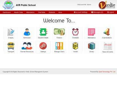 Vedic School Management System(VSMS)