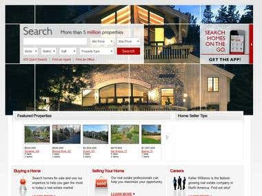Real Estate Site