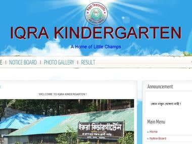 Wordpress School Site