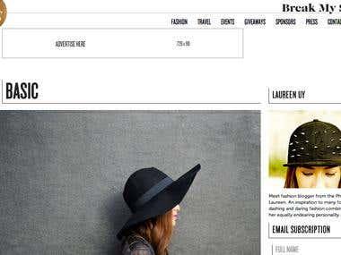 Break My Style - Laureen Uy