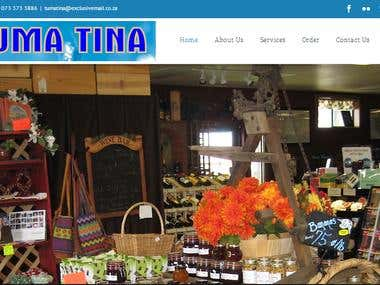 Website Design and Development for tumatina.co.za