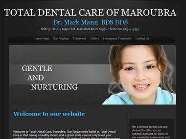 SEO and SMO for totaldentalcare.net