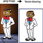 jpg to vector convert.