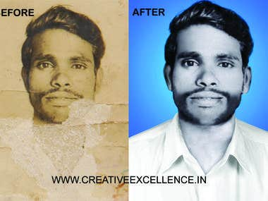 Old Photo Restortation and Photo Editing Jobs