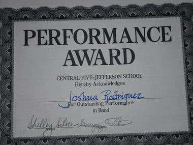 Performance Award